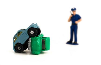 交通事故と警察